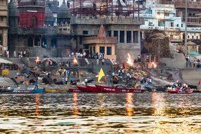 India, Varanasi, Ganges