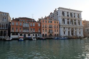 Venice, Italiy, The Façade Of The, Italy