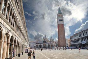 Venice, Piazza, St Mark'S, Duomo, Domes