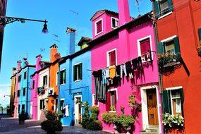 Venice, Italy, Burano, Island