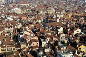 Venice, Homes, Bird'S Eye View