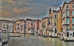 Grand Canal Grand Canal Venice Italy Gondo