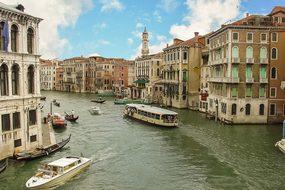 Venice Venezia Italy Italian Boat Cruise T