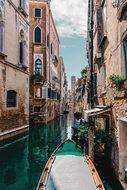 Venice, Gondola, Water, Architecture