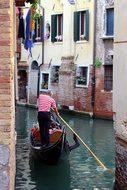 Venice, Gondola, Italy, Water, Gondoleri