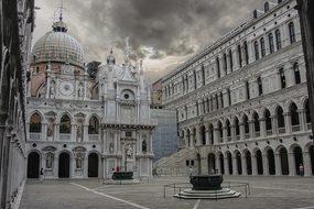 Venice Italy Doges Palace Doge Palace Chur