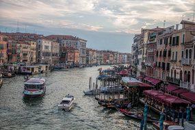 Venice, Italy, Venetian Canal, Water