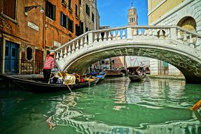 Venice Italy Bridge Sea Times Travel Venic