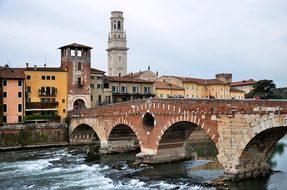 Stone Bridge, Verona, Italy