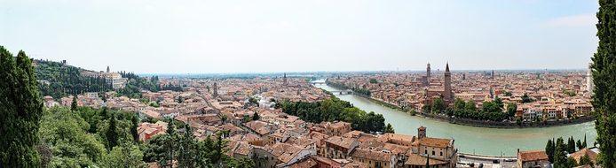 City Italy Verona Mediterranean Old Town P