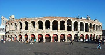 Arena Verona Piazza Bra Italy Verona Veron