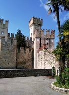 Towers Tower Castle Fortress Middle Ages V