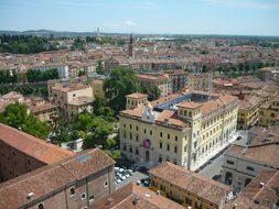 Verona Italian Italy Scape City Buildings