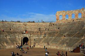 Arena, Verona, Monument, Italy