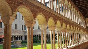 Italy, Verona, Cloister, Historically