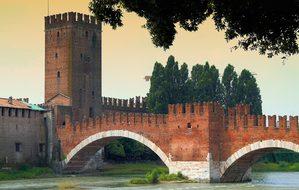 Tour, Arch, Brick, Medieval, Castle