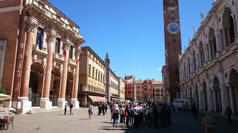 Italy Vicenza Medieval Historic Town Vicen