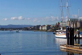 Harbor, Victoria Canada, Canada, Boats