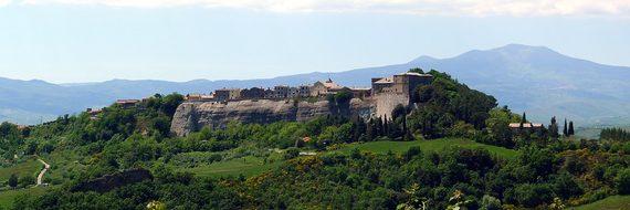 Trevinano, Viterbo Province, Landscape