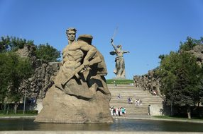 Monument, Birthplace, Russia, Volgograd