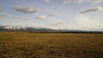 Blue, Mountains, Walla, Wa, Washington