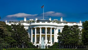 The White House Washington Dc Landmark His