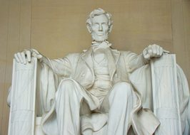 Lincoln Memorial Statue Washington Dc Abra