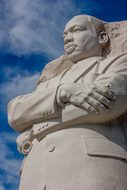 Martin Luther King Monument Statue America