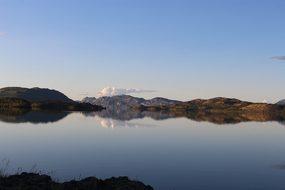 Lake Laberge Yukon Canada Lake Whitehorse