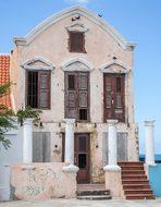 Curacao, Willemstad, Building, Old