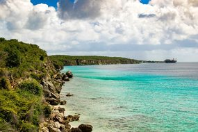 Curaçao Curacao Caribbean Landscape Beach
