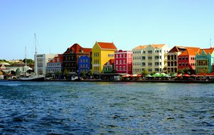 Curacao Willemstad Island Dutch Caribbean