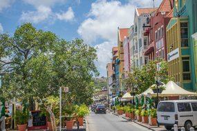 Curacao Willemstad Antilles Caribbean Dutc