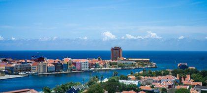 Willemstad Curacao Antilles Caribbean Dutc