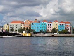 Willemstad Capital Antilles Caribbean Plac