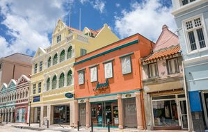 Curacao Town Architecture City Antilles Wi