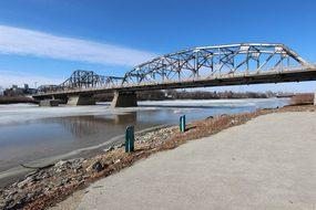 Louise Bridge Bridge River Red River Sprin