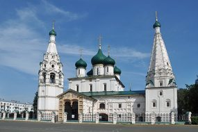 Russia, Yaroslavl, Church, Showplace