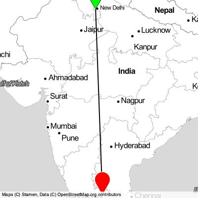 Lacné letenky Gurugram (DEL) - Bengaluru 2021